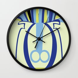Biology of anemone Wall Clock