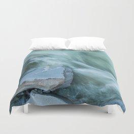 Marble River Run Duvet Cover