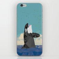 killer whale iPhone & iPod Skins featuring Killer Whale II by Jacek Muda