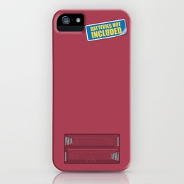 Batteries Not Included ~ Night Shadz iPhone Case