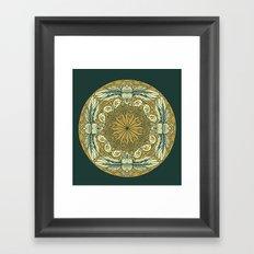 Mandala 9 Framed Art Print