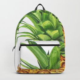 Watercolor Pineapple Backpack