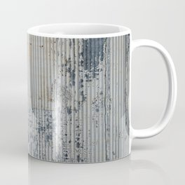 Warehouse District -- Rustic Industrial Farm Chic Abstract Coffee Mug