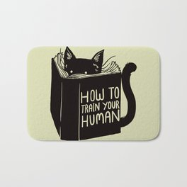 How To Train Your Human Bath Mat