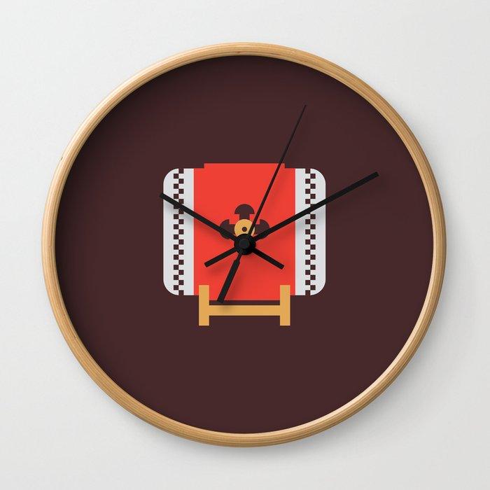 Japan Taiko Drum Wall Clock