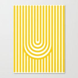 U, Canvas Print