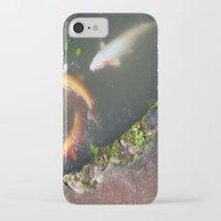 koi fish iPhone & iPod Cases featuring Koi Fish by Elizabeth Boyajian