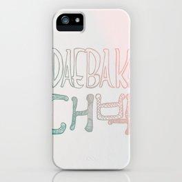 Awesome! Daebak! iPhone Case