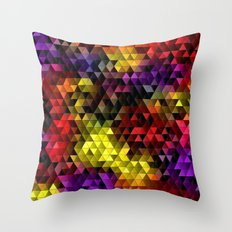 Color Galore Throw Pillow