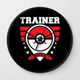Trainer Wall Clock