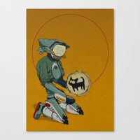flcl Canvas Prints featuring Canti+ by winterteeth