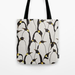 Penguin Patch Tote Bag