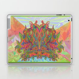 AlChemical - with landscaped background inc birds Laptop & iPad Skin