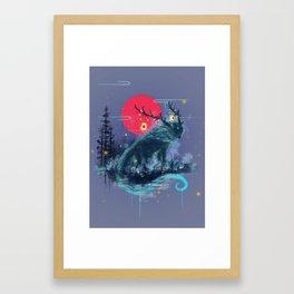 The Path Keeper Framed Art Print