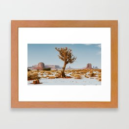 Monument Valley Juniper Framed Art Print
