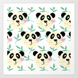 WWF Panda Donations Art Print
