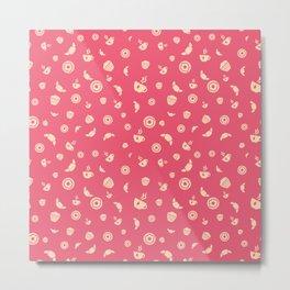 Pink&Sweet Metal Print