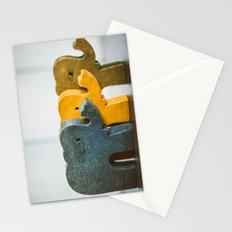 Three Elephants Stationery Cards
