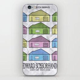 Edward Scissorhands Movie Poster iPhone Skin