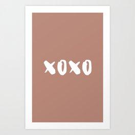 xoxo hugs and kisses Art Print