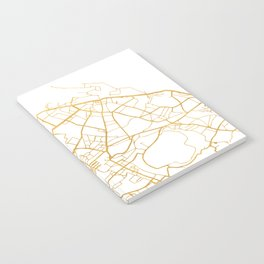 EDINBURGH SCOTLAND CITY STREET MAP ART Notebook