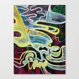 Slipping Into Dreams Canvas Print
