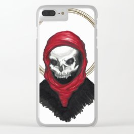 Oh Death Clear iPhone Case