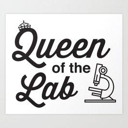 Queen Of The Labs Art Print