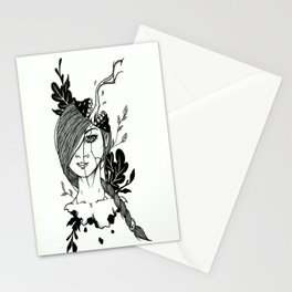 What Am I Thinking Stationery Cards