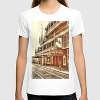 broadway T-shirts featuring Give My Regards To Broadway by Christine Workman