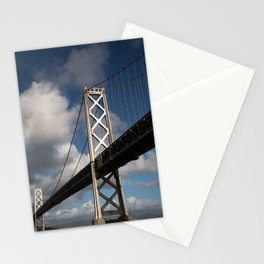 Bay Bridge in the Sun Stationery Cards