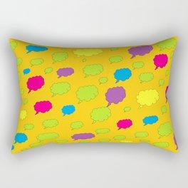 Thinking Thinking Rectangular Pillow