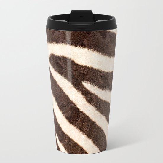 Zebra #society6 #buyart Metal Travel Mug