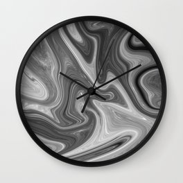 Slippery Moon Wall Clock