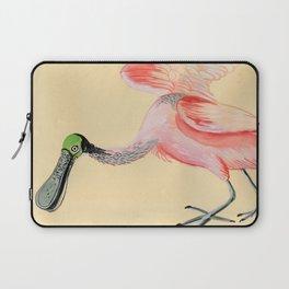 Roseate Spoonbill Laptop Sleeve