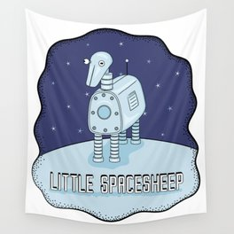 Little Spacesheep Wall Tapestry