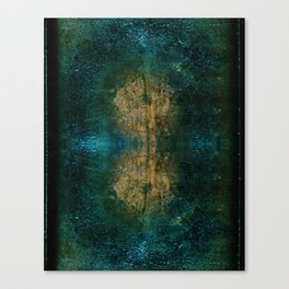 Iron Oxide Dragonfly Canvas Print