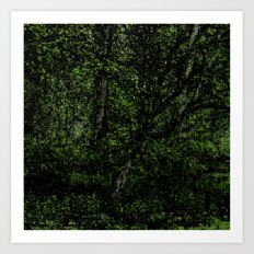 Green Season Art Print