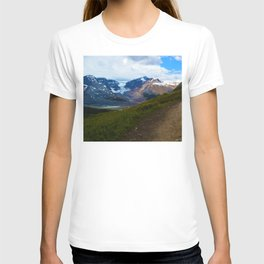 Athabasca & Snowdome Glaciers in Jasper National Park, Canada T-shirt