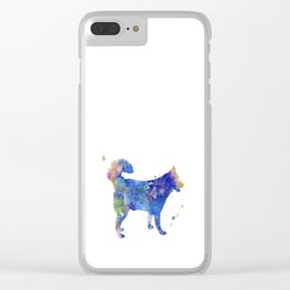 Husky Clear iPhone Case