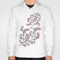 cherry blossoms Hoodies featuring Cherry Blossoms by famenxt