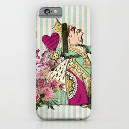 Wonderland Queen of Hearts iPhone Case