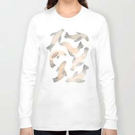 My Lips Are Seals Long Sleeve T-shirt