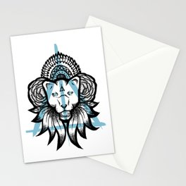 Wild Panther Stationery Cards