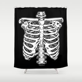 Funnybones Shower Curtain