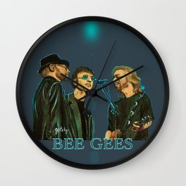 Bee Gee's Wall Clock