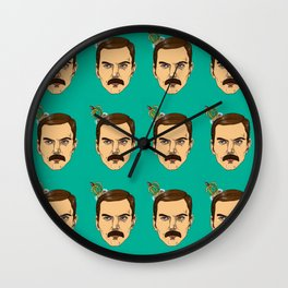 Freddy is the king Wall Clock