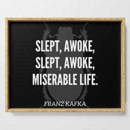 15  |  Franz Kafka Quotes | 190517 Serving Tray