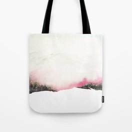 Fading mountains Tote Bag