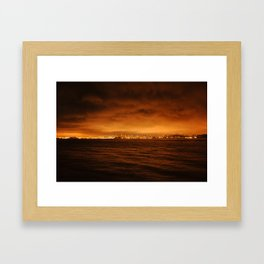 VIEW FROM FORT BAKER II Framed Art Print